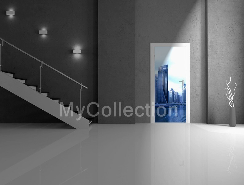 Door sticker DUBAI SKYLINE by MyCollection.it