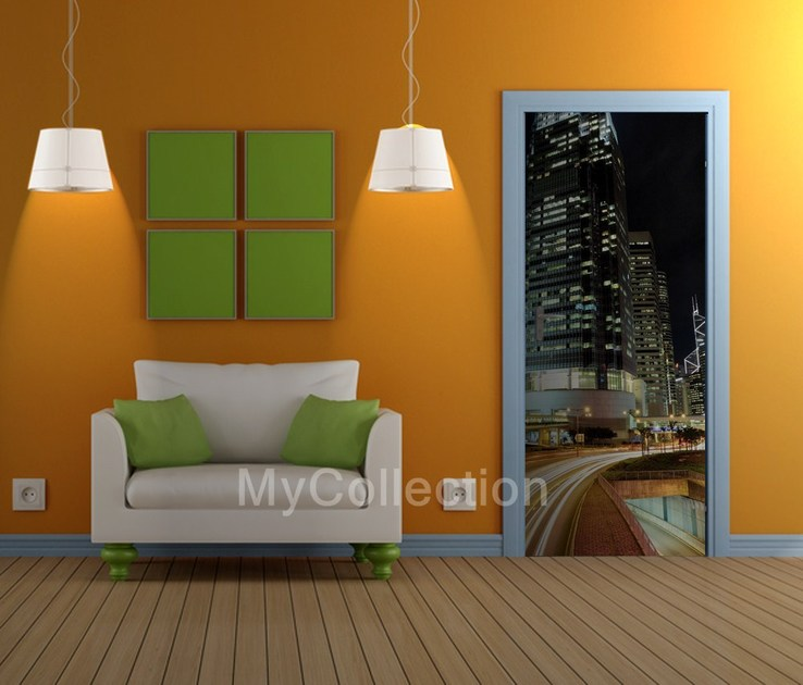 Door sticker URBAN by MyCollection.it