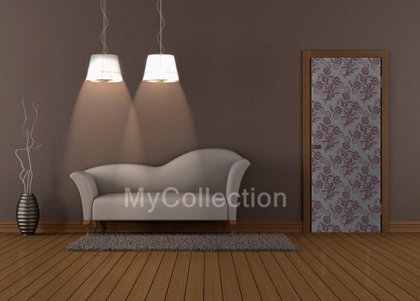 Door sticker Fiori - MyCollection.it
