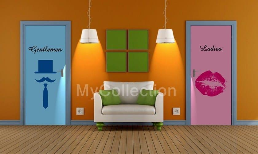 Door sticker GENTLEMAN - MyCollection.it