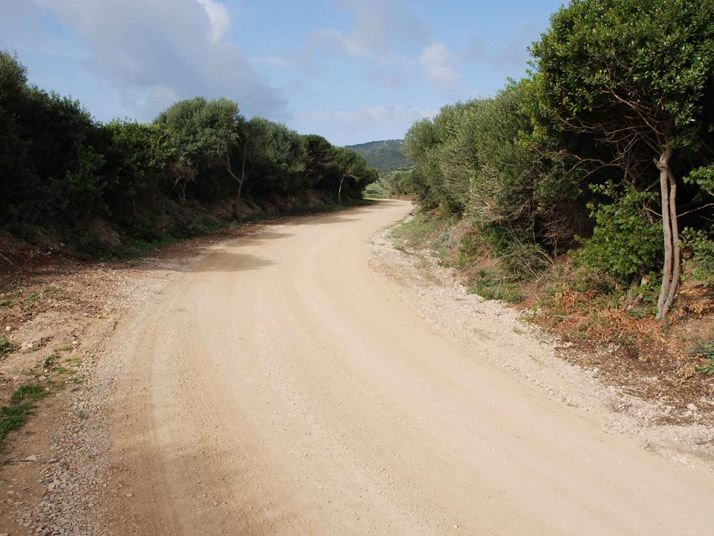Viabilità Rurale Parco Minerario dell Argentiera PIT SS.1(Sassari)