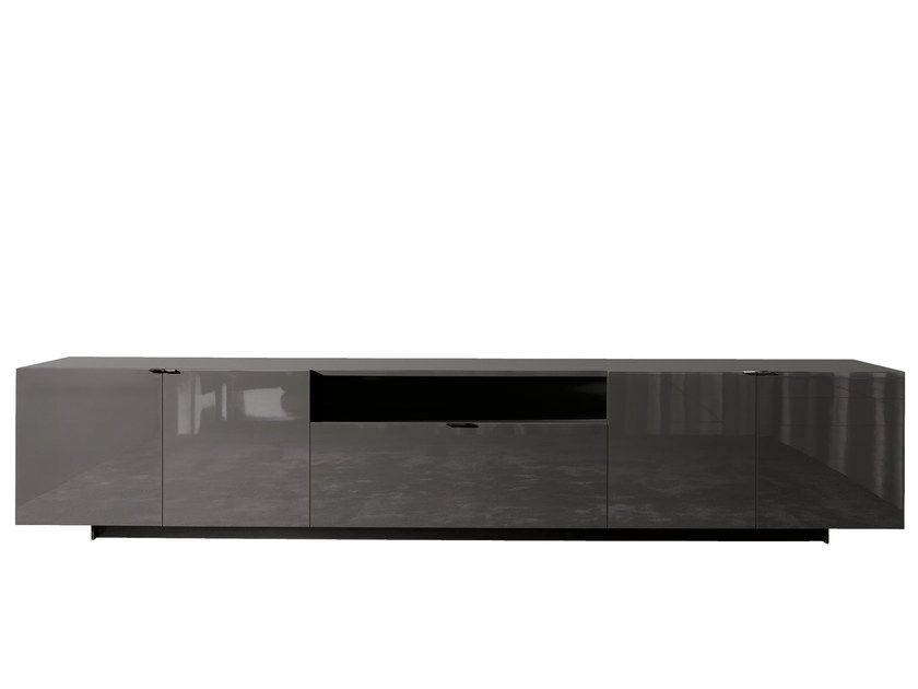 Lacquered sideboard HARVEY LINE | Sideboard - Minotti