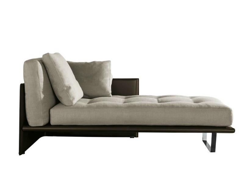 Chaise longue LUGGAGE - Minotti