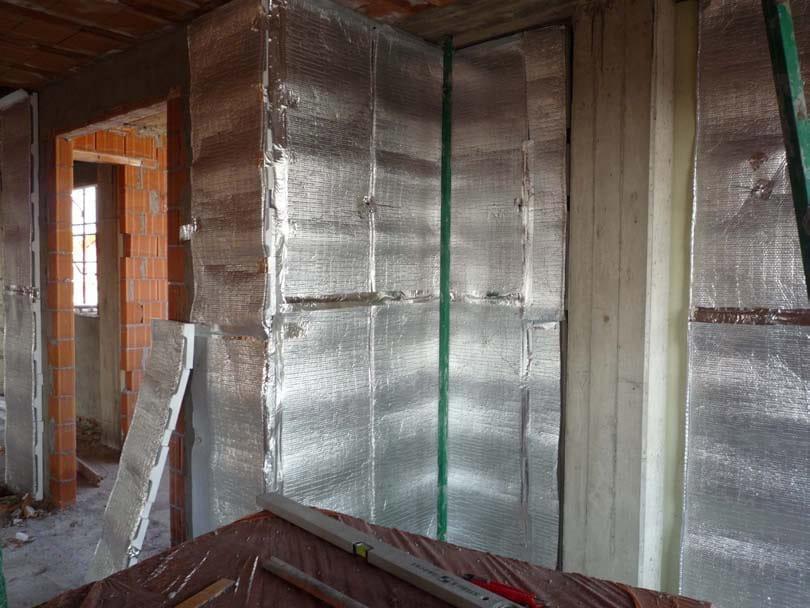 Isolante termoacustico per pareti over wall over all - Spessore muri interni ...