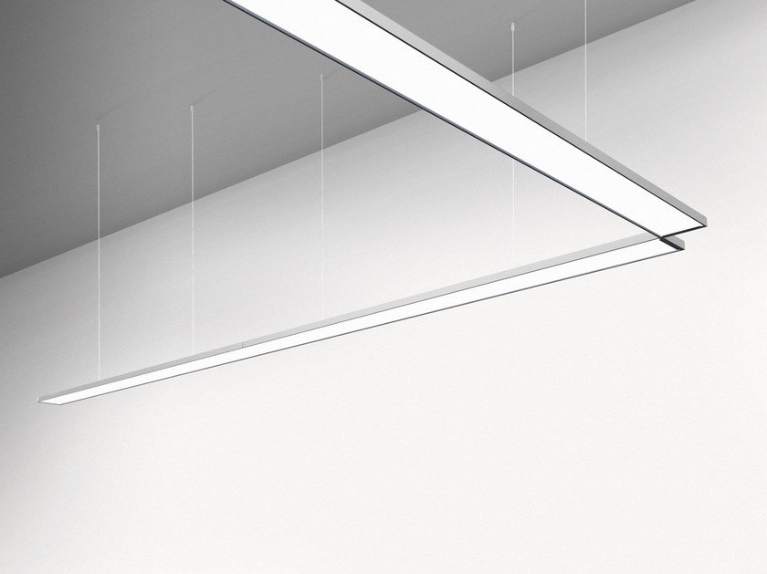 LED direct light modular pendant lamp PAD SYSTEM - Artemide