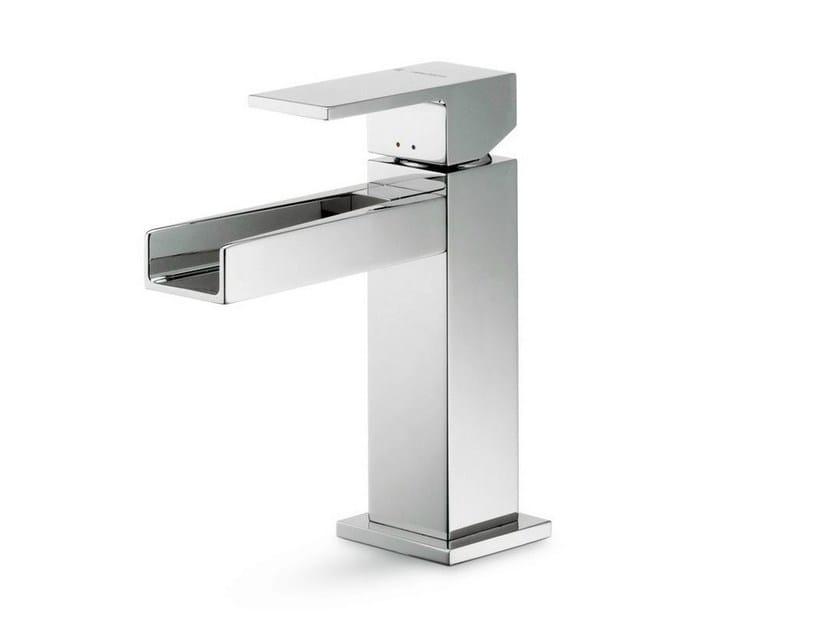 Single handle 1 hole washbasin mixer ERGO OPEN | Washbasin mixer - NEWFORM