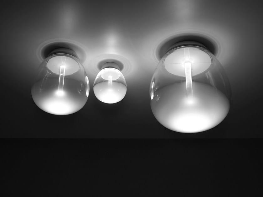 Blown glass ceiling lamp EMPATIA | Ceiling lamp - Artemide
