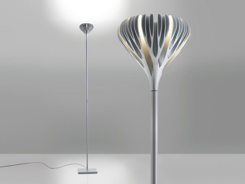 Zamak floor lamp FLORENSIS | Floor lamp - Artemide Italia