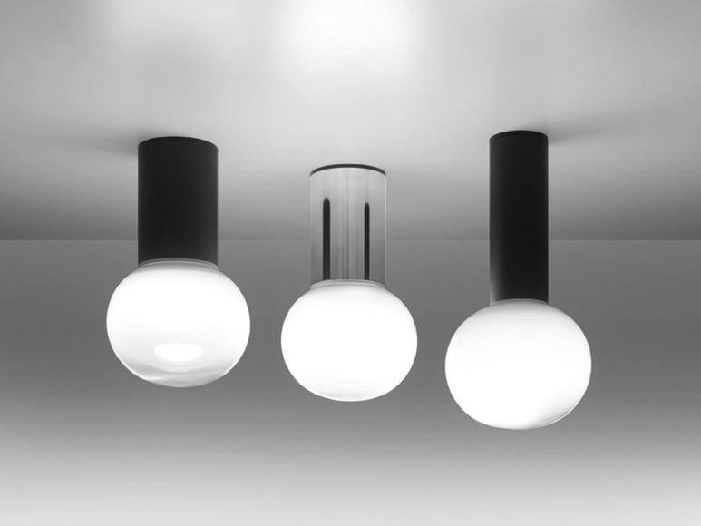 LED blown glass ceiling lamp LAGUNA | Ceiling lamp - Artemide Italia