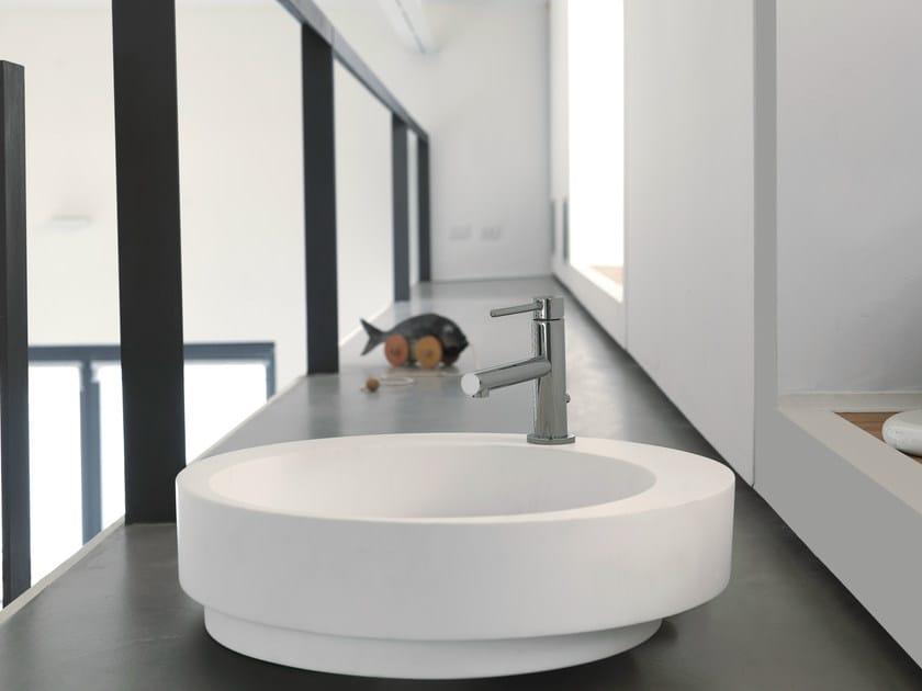 Countertop round single Cristalplant® washbasin WASHBASINS | Cristalplant® washbasin - NEWFORM