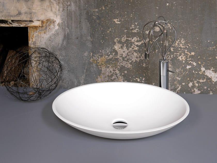 Countertop oval washbasin WASHBASINS   Oval washbasin - NEWFORM