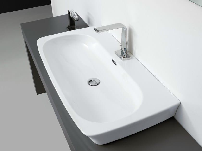 Countertop rectangular single washbasin WASHBASINS | Single washbasin - NEWFORM