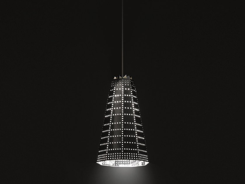 LED aluminium pendant lamp NULL VECTOR BETA - Artemide
