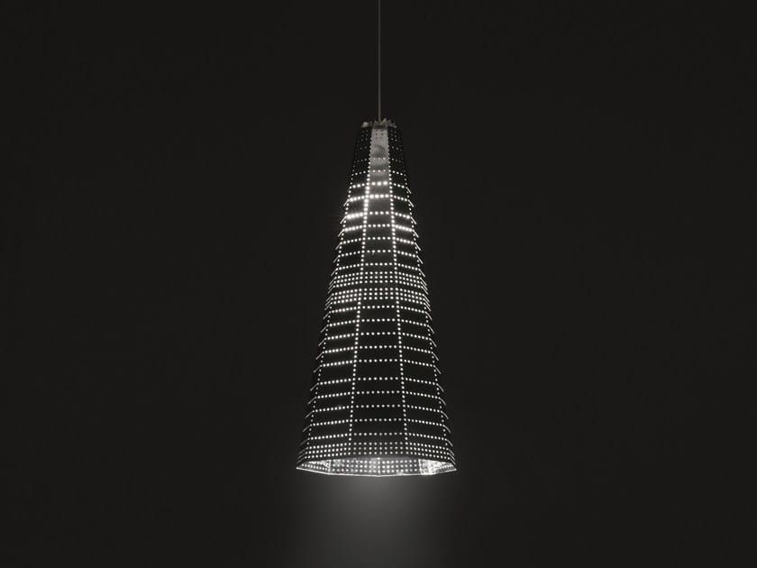 LED aluminium pendant lamp NULL VECTOR ALFA - Artemide