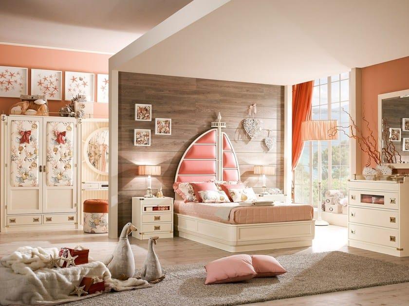 Solid wood bedroom set ARIEL | Bedroom set by Caroti