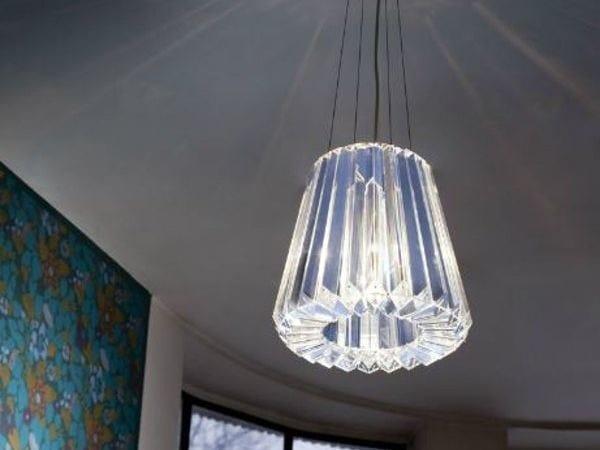Indirect light glass pendant lamp GLITTERS | Pendant lamp - Lasvit