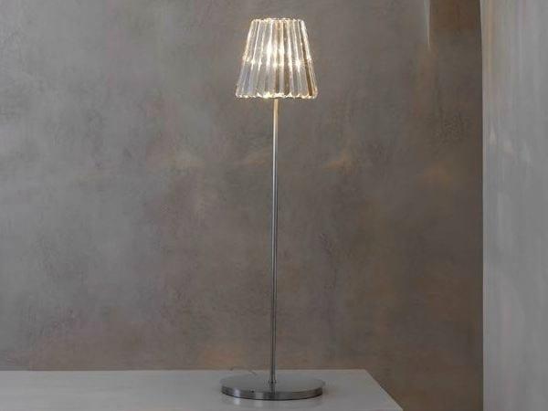 Indirect light glass floor lamp GLITTERS | Floor lamp - Lasvit