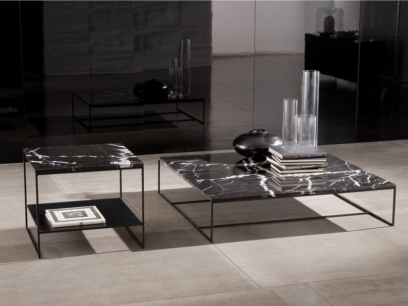 calder table basse en pierre naturelle by minotti. Black Bedroom Furniture Sets. Home Design Ideas