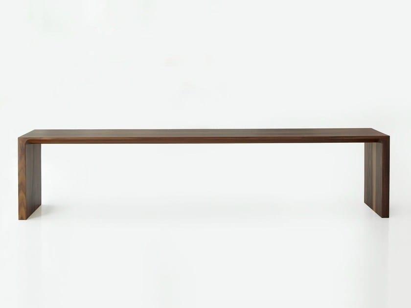Wooden bench RADII | Bench - BENSEN