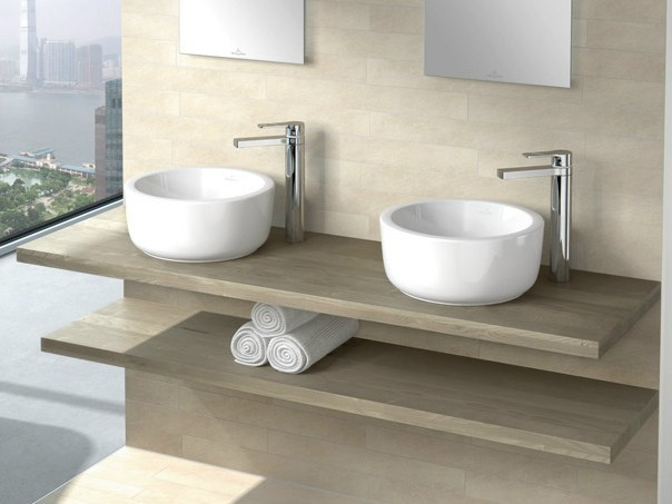Countertop ceramic washbasin ARCHITECTURA | Countertop washbasin - Villeroy & Boch
