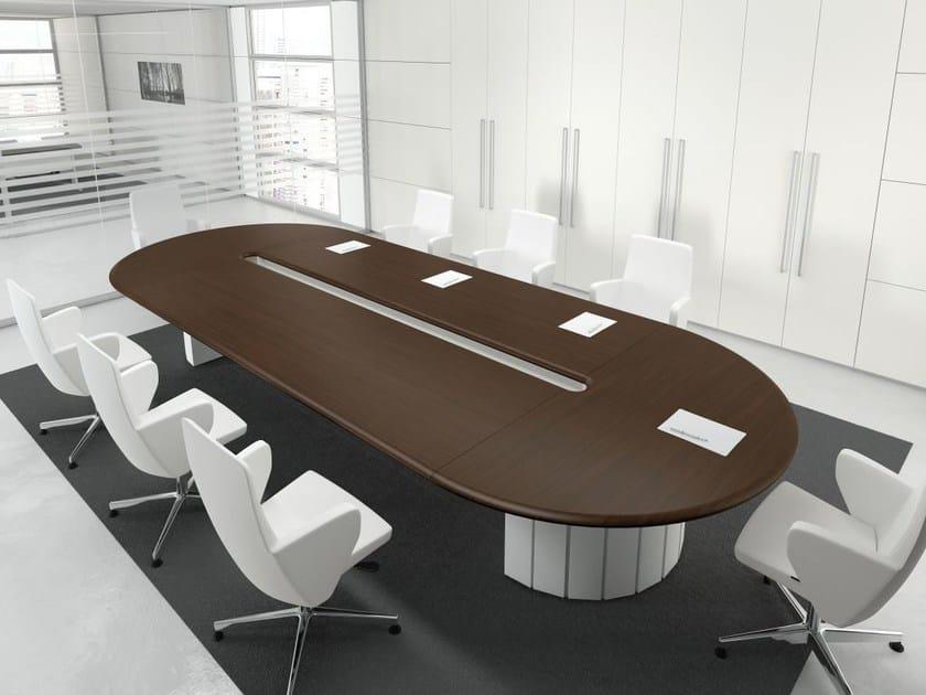 Format tavolo da riunione ovale by las mobili design studio si