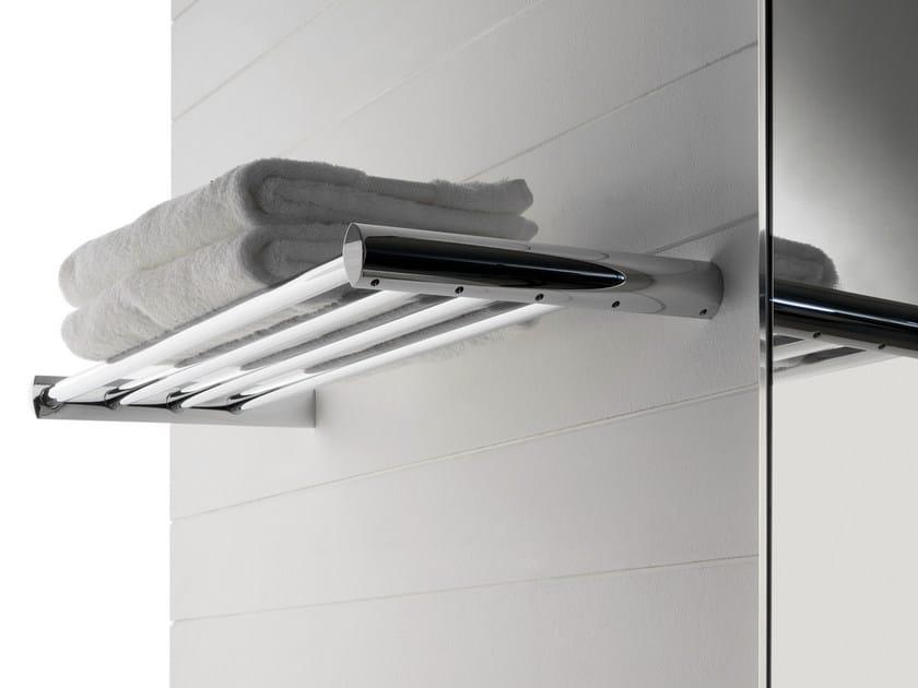 Steel bathroom wall shelf TANGO | Steel bathroom wall shelf - ZAZZERI