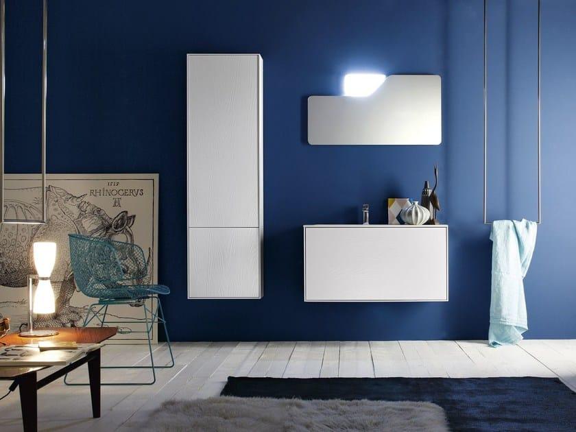 Lacquered single vanity unit FREE 14/15 - Cerasa