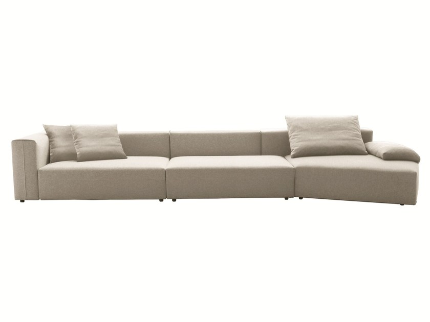 Sectional modular sofa FREESTYLE by Molteni