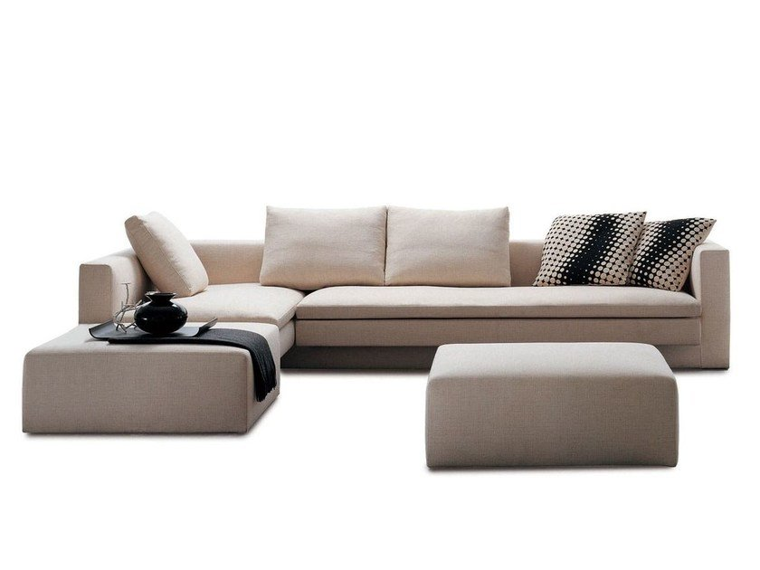 Sectional sofa HI-BRIDGE by Molteni