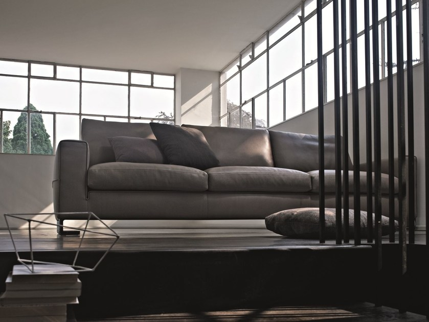 Leather sofa PORTFOLIO | Leather sofa - MOLTENI & C.