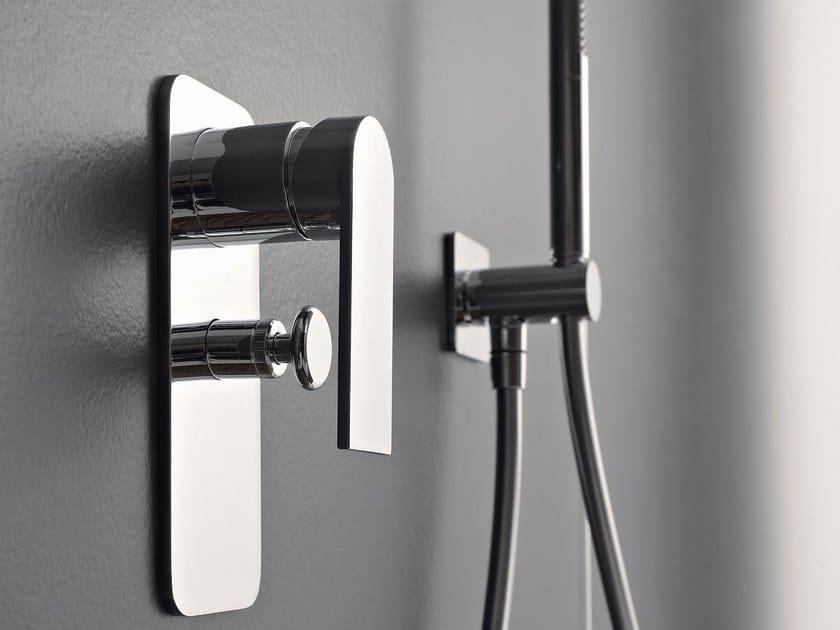 Shower mixer with hand shower 100 | Shower mixer by ZAZZERI