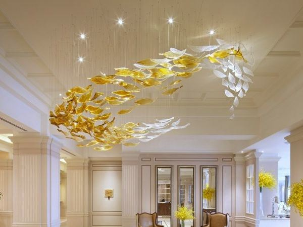 Handmade glass Chandelier WHIRLPOOL - Lasvit