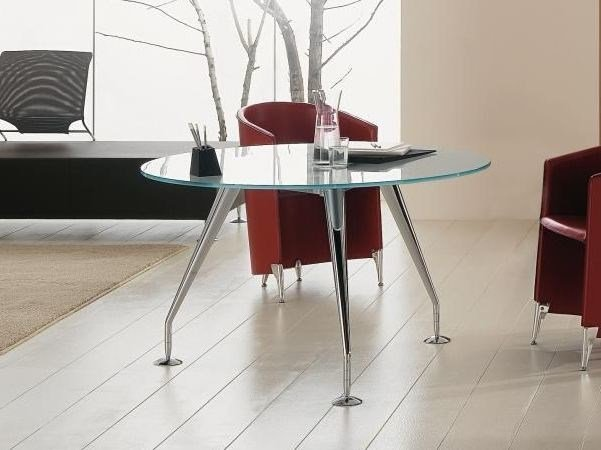 Round metal living room table ENOSI | Round table - Las Mobili