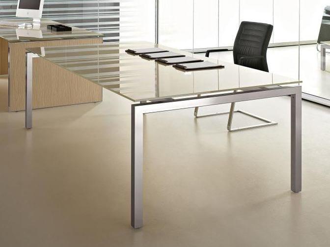 Rectangular meeting table EOS | Rectangular meeting table - Las Mobili