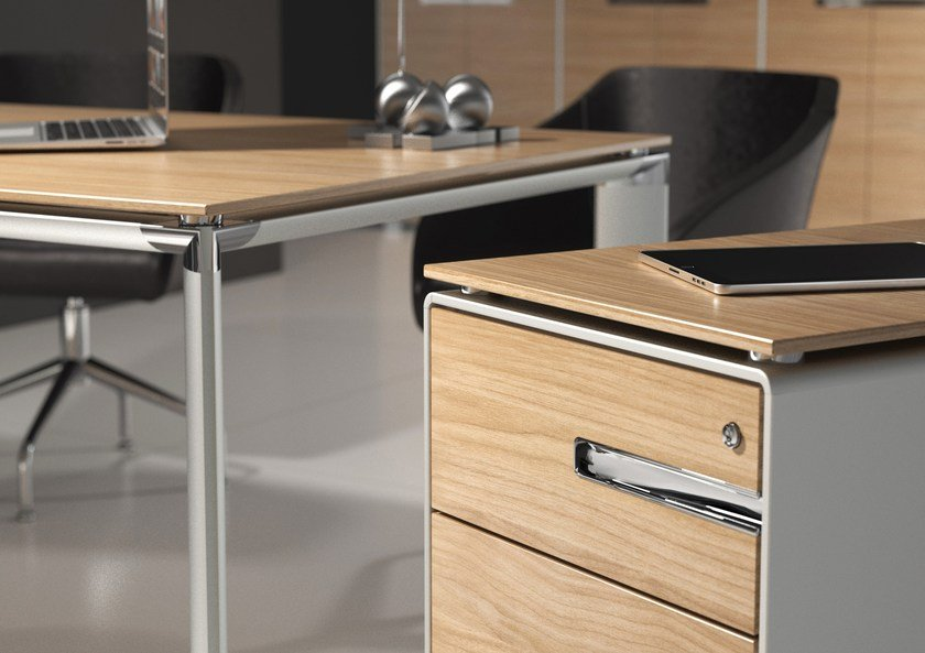 Office drawer unit with casters KBOX | Office drawer unit - TECNITALIA