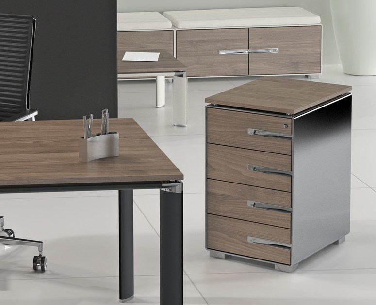 kbox office drawer unit by tecnitalia