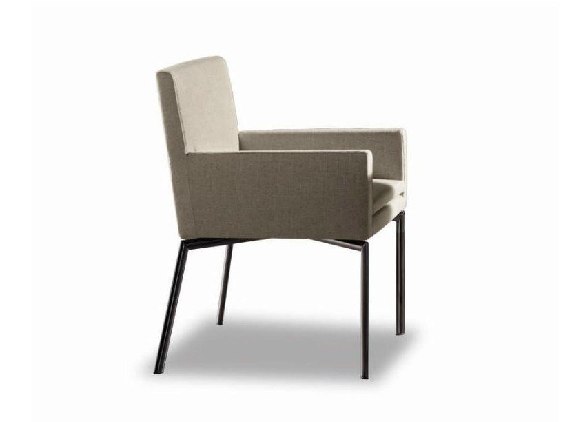 Chair MANET | Chair with armrests - Minotti
