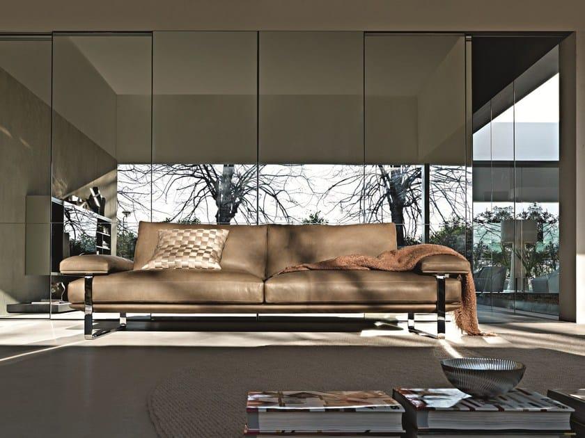 Still divano in pelle by molteni c design foster partners - Molteni mobili catalogo ...