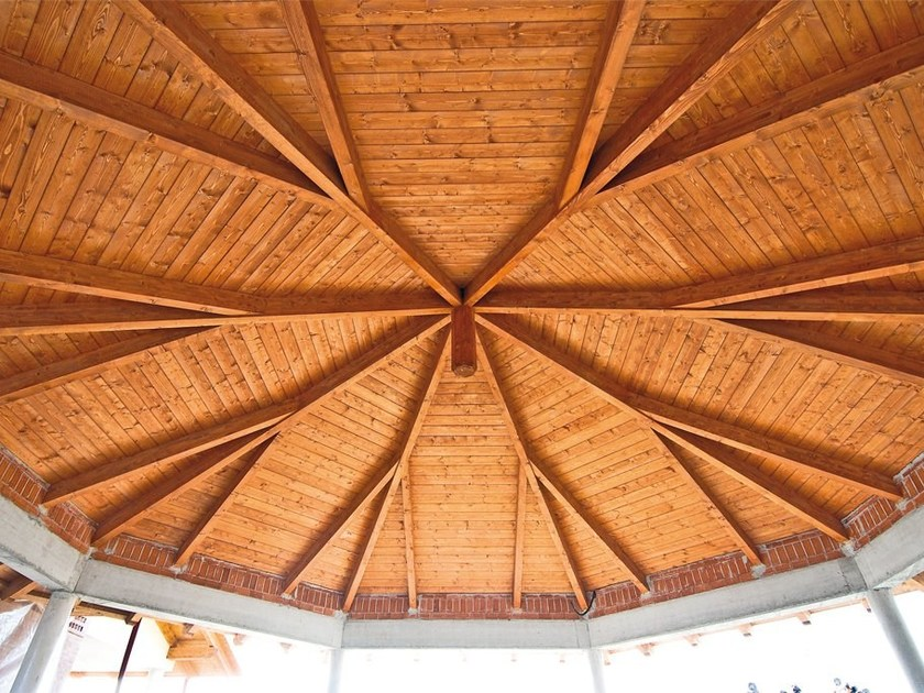 Precut wooden structures and partially preassembled Wooden structures by Grandi Legnami