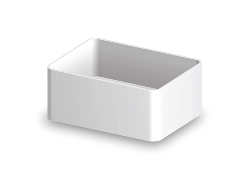 Cristalplant® washbasin LAB 03 | Countertop washbasin - Kos by Zucchetti