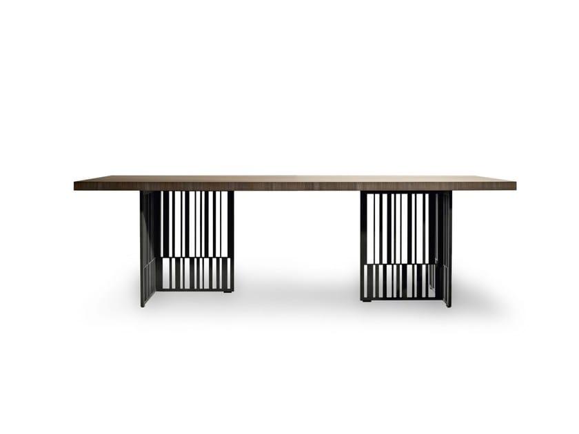 Rectangular elm table CODEX - MOLTENI & C.