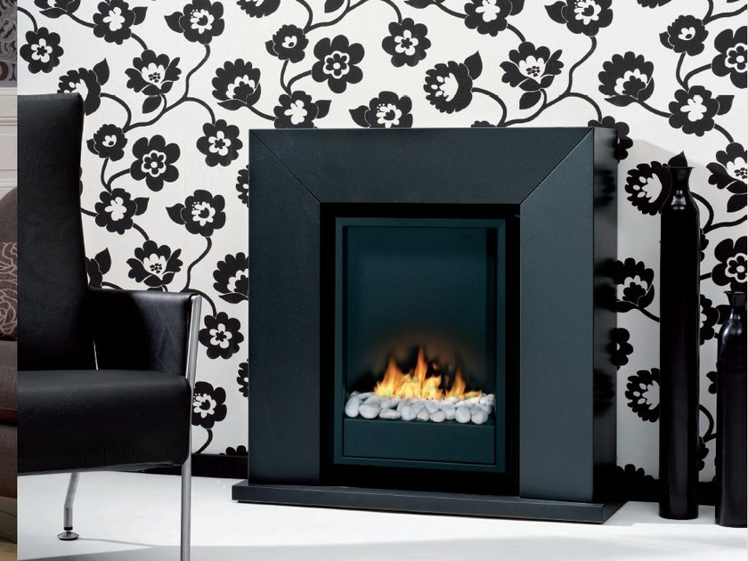 Bioethanol wall-mounted fireplace DIABLO by BRITISH FIRES