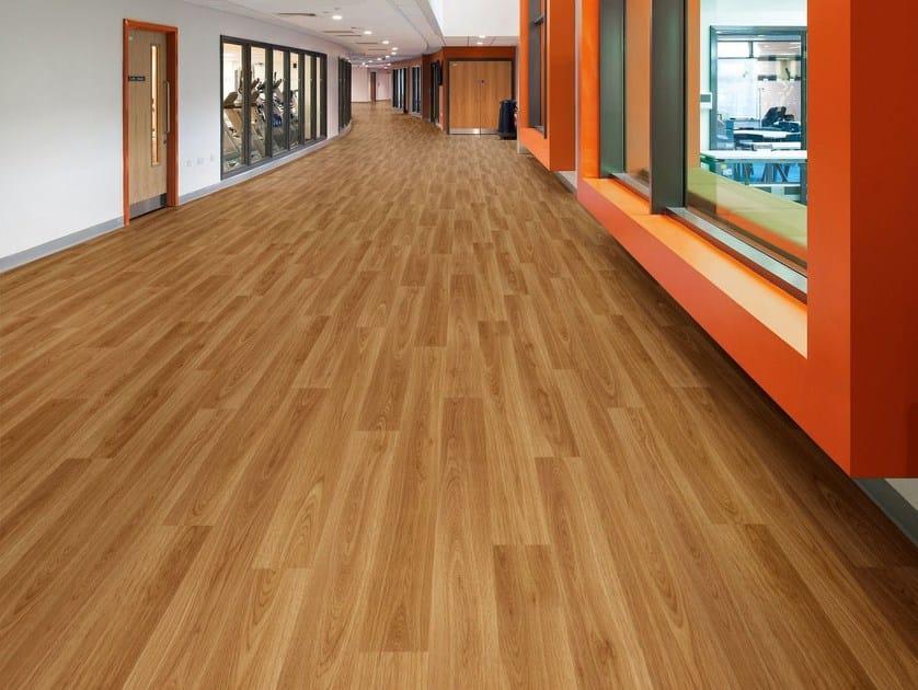 Pavimento vinilico eterogeneo effetto legno acoustix for Pavimento vinilico