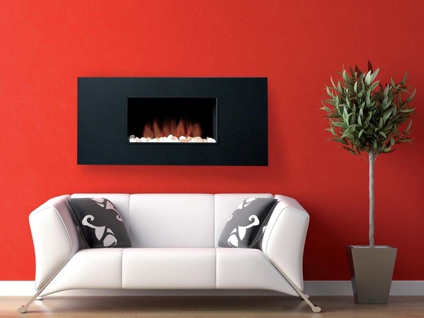 Wall-mounted electric hanging fireplace MARINO XL - BRITISH FIRES