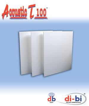 EPS thermal insulation panel Acoustic T 100® - FORTLAN - DIBI