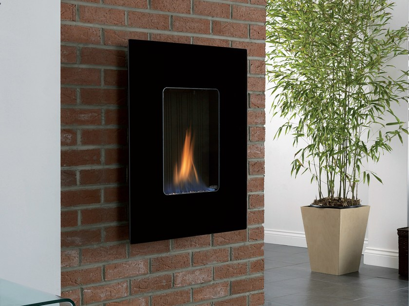 Gas hanging wall-mounted fireplace ORIGINAL 39 by BRITISH FIRES