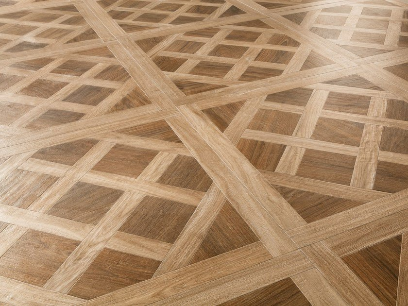 Porcelain stoneware flooring with wood effect ROYAL - CERAMICA SANT'AGOSTINO