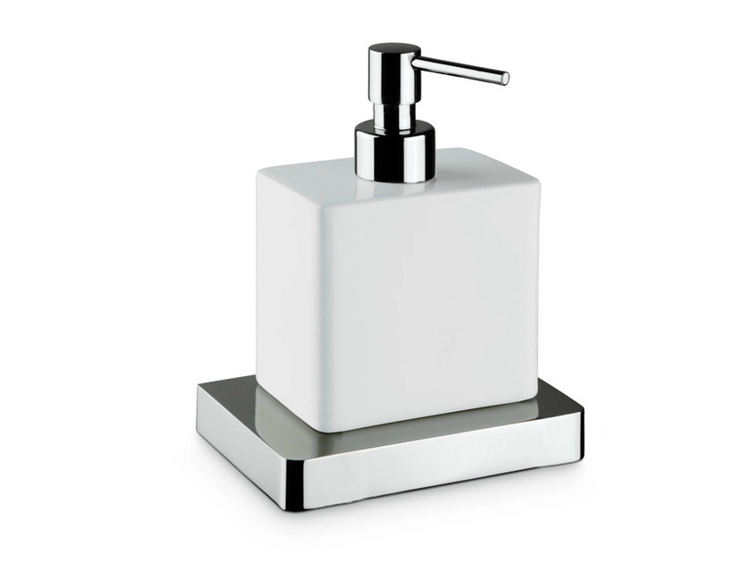 Ceramic liquid soap dispenser X-SENSE ACCESSORIES | Liquid soap dispenser - NEWFORM