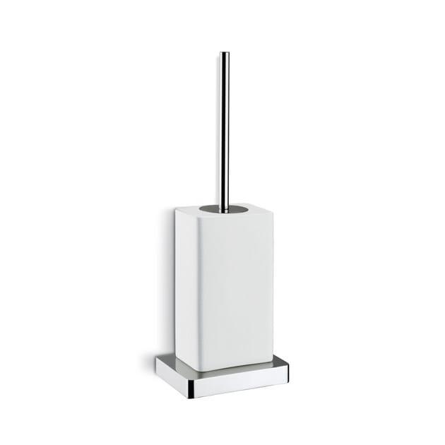 Wall-mounted ceramic toilet brush X-SENSE ACCESSORIES   Wall-mounted toilet brush - NEWFORM