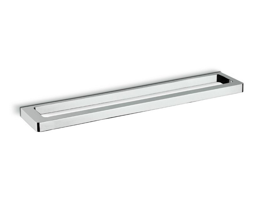 Metal towel rail X-SENSE ACCESSORIES | Metal towel rack by newform